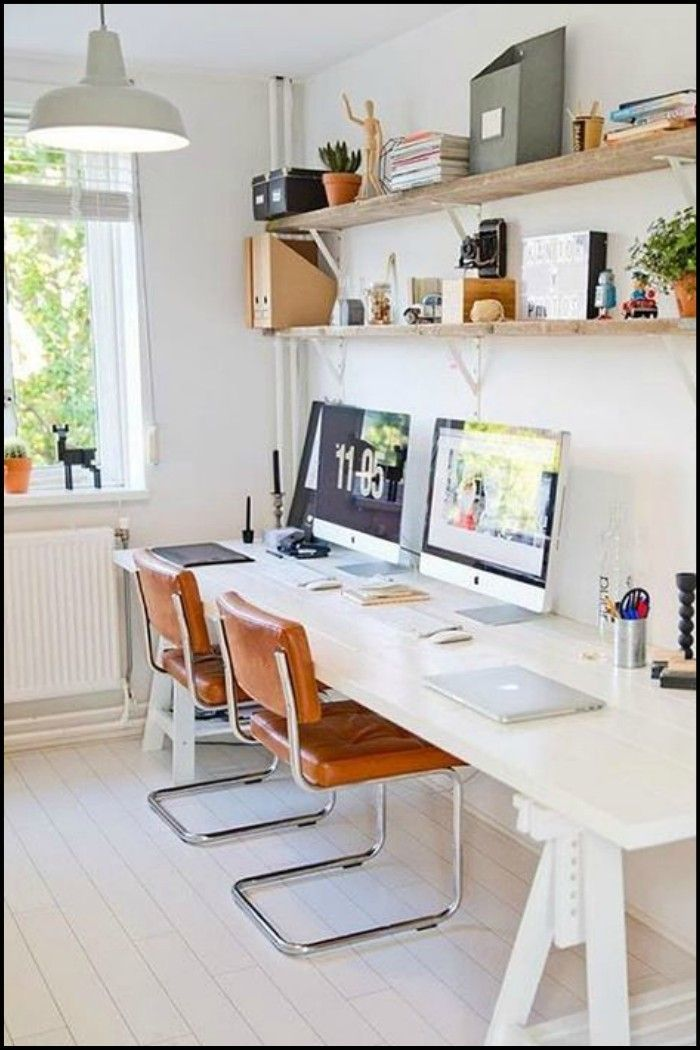 24 Creative Workspaces For Two In 2020 With Images Home