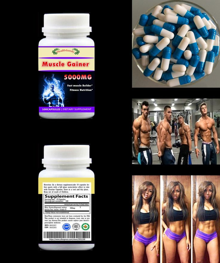 [Visit to Buy] 100Pills Fast Add Muscle Formula Muscle Gainer Fitness Whey ProteinNutrition Supplement Increase Body Muscle & Weight Free ship #Advertisement