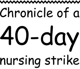 this is really inspiring me right now.  nursing strikes are the worst, but they're not weaning - keep on pumping!
