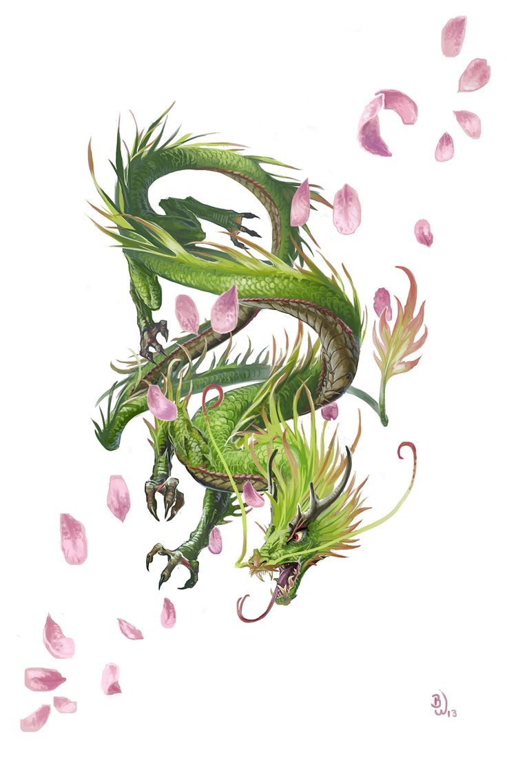 Very Young Forest Dragon by BenWootten on deviantART