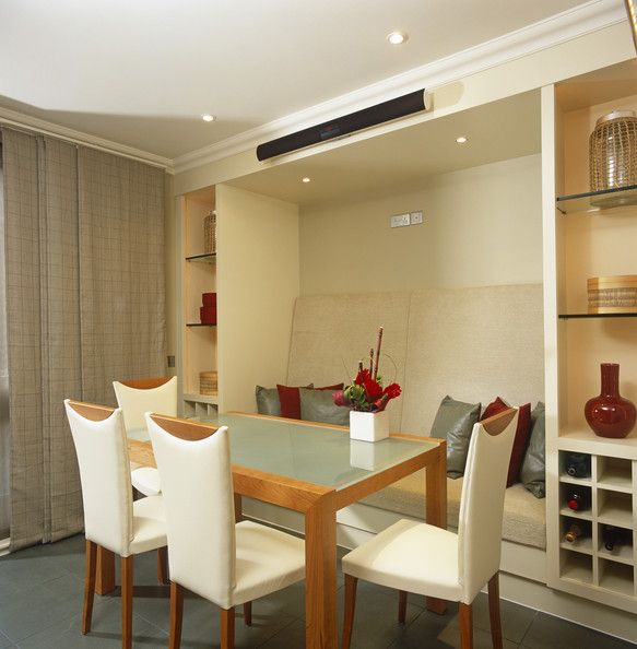 Contemporary Banquette: First House - Kitchen