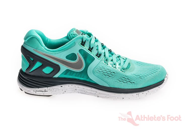 Nike Womens Lunareclipse 4 Turquoise-Silver/   The Athlete's Foot NZ - The Athlete's Foot