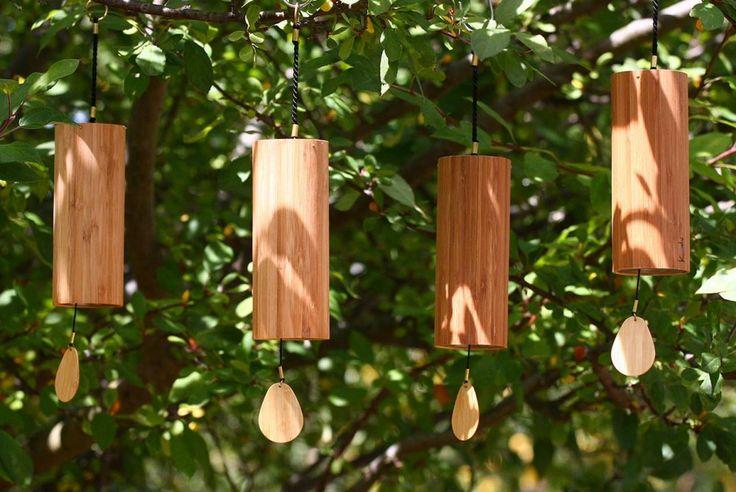 15 ideas para decorar con bambú | Adornos de jardín