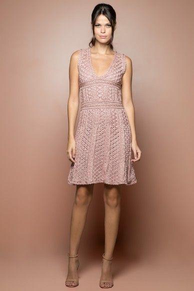 Trân Venice Crochet dress - Vanessa Montoro USA - vanessamontorolojausa