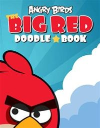 Big Red Doodle book for Rovio, Angry birds. Illustrated by Terese Bast  #angrybirds #doodle #play #fun #teresebast