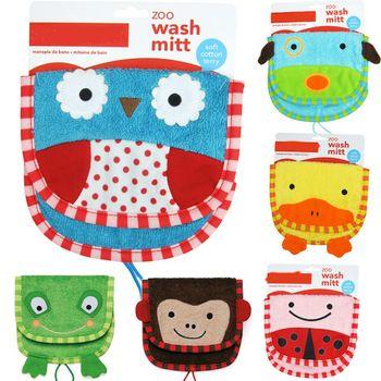 lavar luva brinquedo do banho do bebê luva jardim zoológico amigos algodão macio crianças brinquedos frete grátis