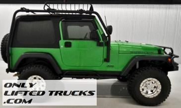 2004 Jeep Wrangler Rubicon 4WD Lifted