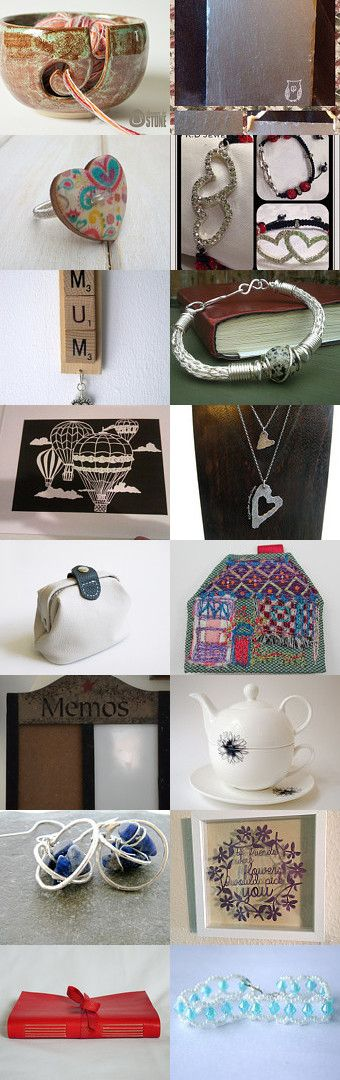 Stocking Fillers For Her by Pam Price on Etsy--featuring my Mum decoration