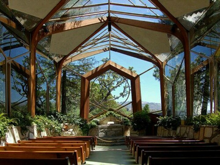 Wayfarer 39 s chapel glass church in rancho palos verdes for Architecture wright