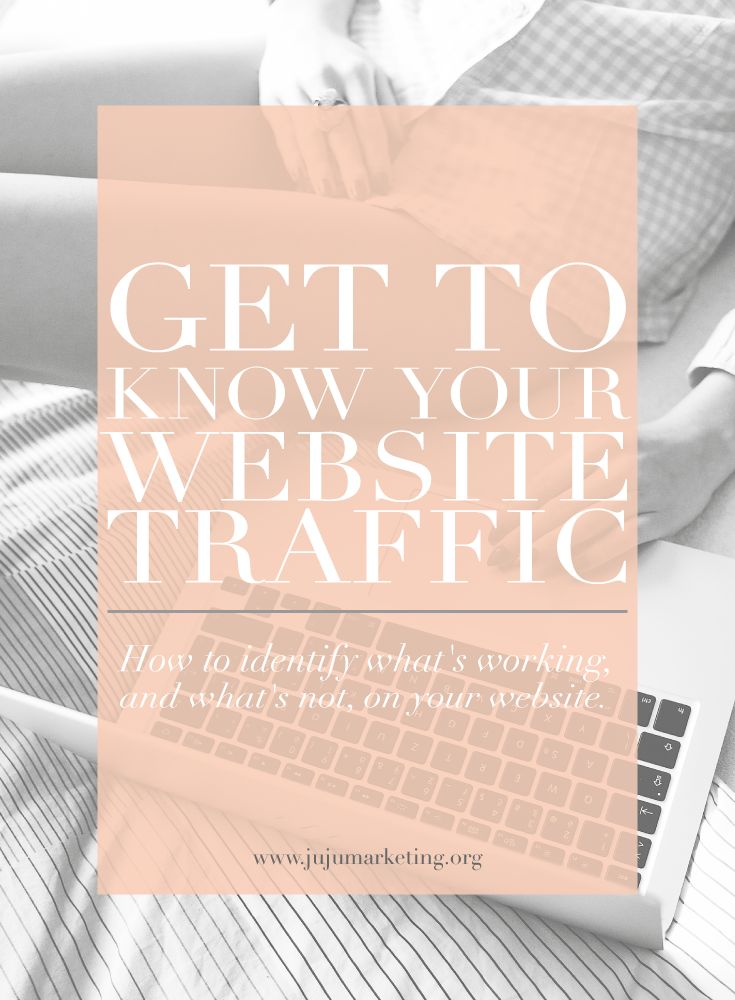 Get to know your website traffic — JuJu Creative Hub