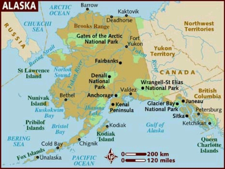 Ive been to Alaska and LOVE it but never been to the northern most