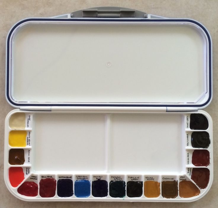 A guide to watercolor palettes