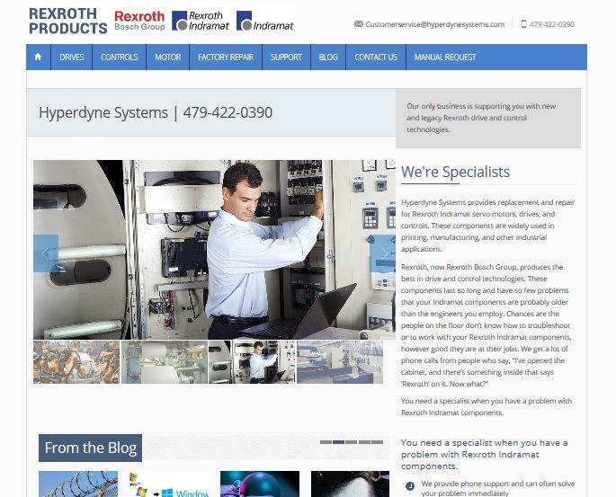 An industrial engineer's website
