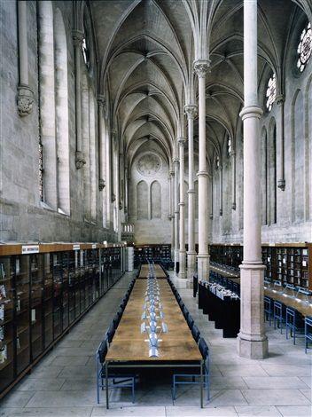 Candida Höfer / Bibliothèque du CNAM Paris