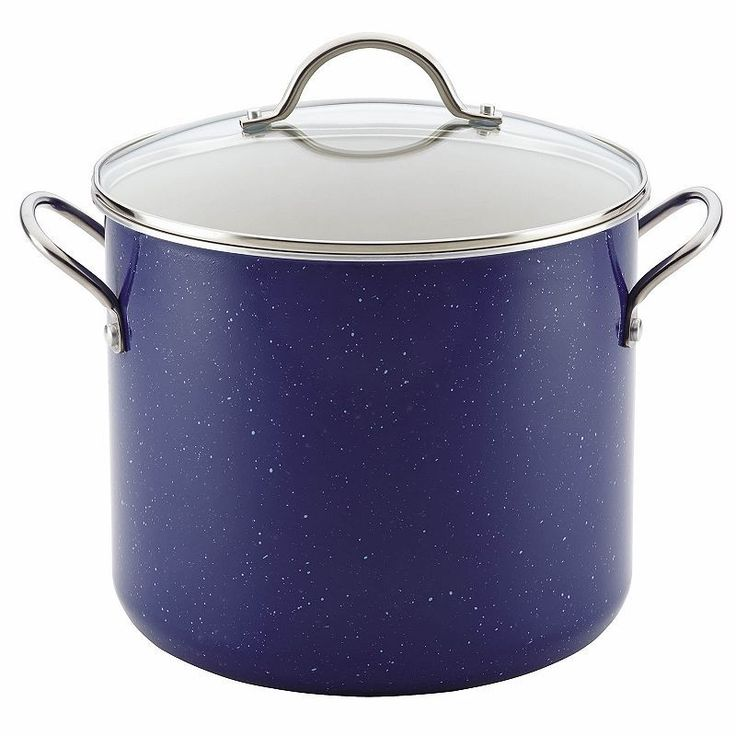 Farberware New Traditions Speckled 12-qt. Covered Stockpot,