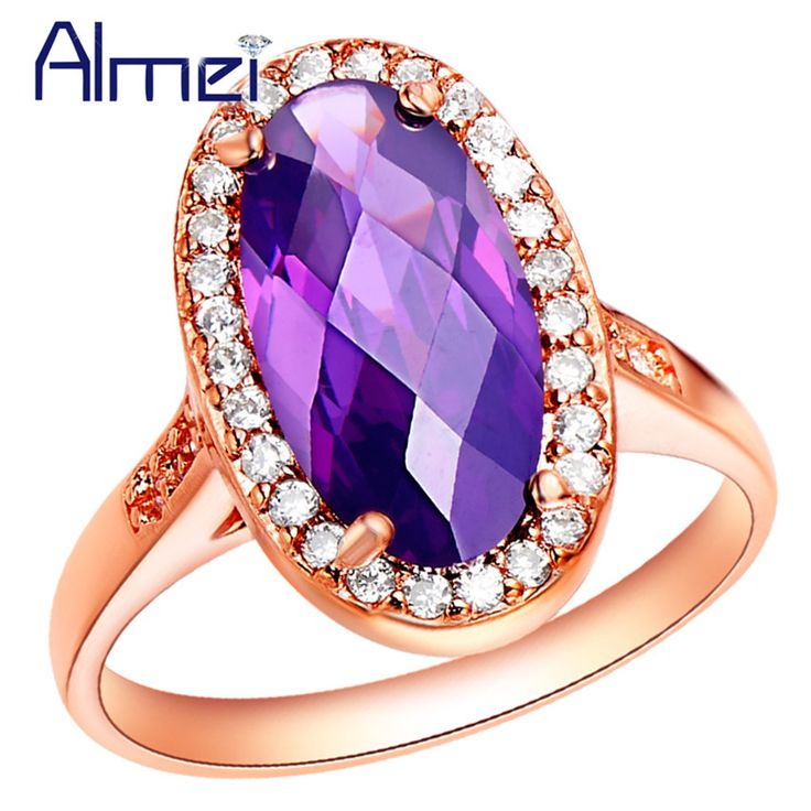 Find More Rings Information about Sterling Silver Rings Bijoux Women Jewelry Anillos De Compromiso Engagement Rose Gold Plated Ring Free Shipping 2015 Ulove J197,High Quality jewelry pillow,China jewelry hongkong Suppliers, Cheap jewelry bra from Almei Jewelry Store on Aliexpress.com