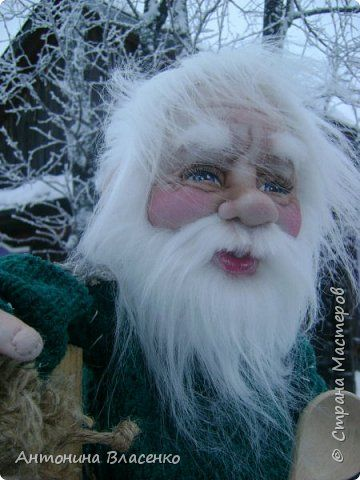 Куклы Шитьё Дедушка-домоседушка Капрон фото 1