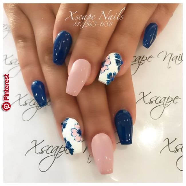 100 Trending Early Spring Nails Art Designs And Colors 2019