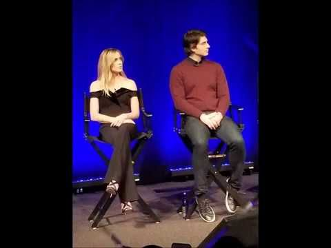 The Art of Matter From Sketch to Screen /  DCinDC2018 / Caity Lotz And Brandon Routh / Photo Mashup https://youtube.com/watch?v=mPGKQfYnXbM