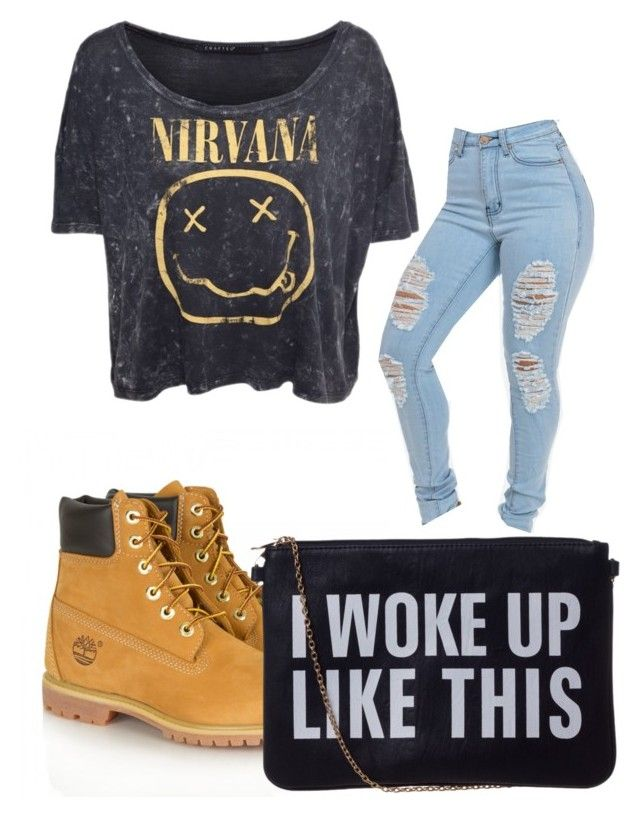 """""""5sos Michael clifford"""" by carlile3121 ❤ liked on Polyvore featuring CO and Timberland"""
