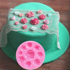 Blumen Silikonform Fondantform Kuchen dekorieren Werkzeuge Schokoladenform a Pro… – Produkte zum Kochen & Genießen