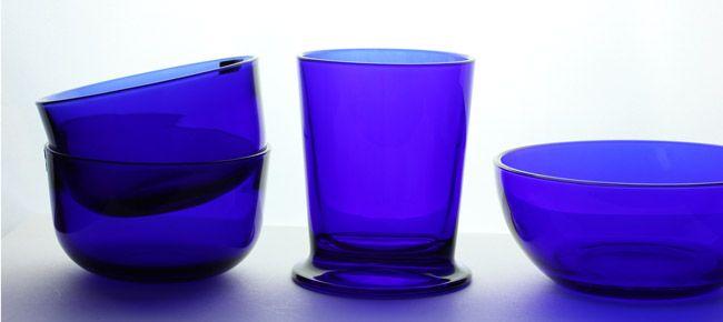 About Iittala's Cobalt Blue glass