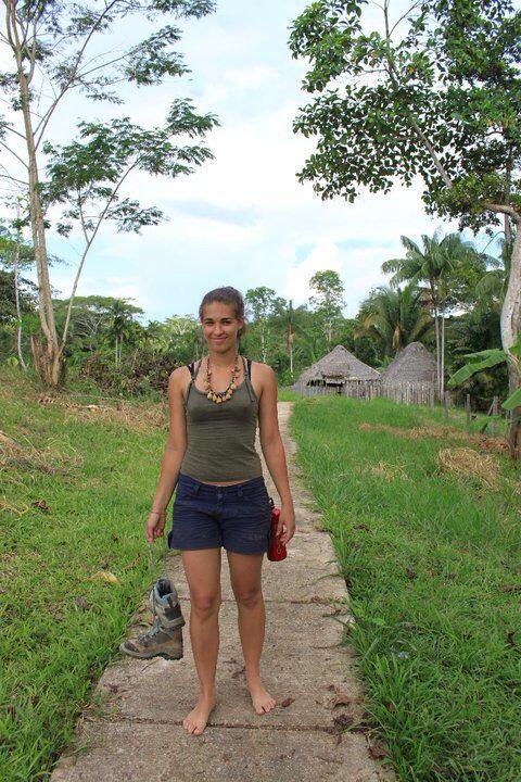 Agniezka Samitowska in Puerto Nariño, Col. Amazonas