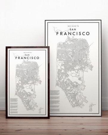 David Ehrenstråhle 2013 Guide to San Francisco | Artilleriet | Inredning Göteborg