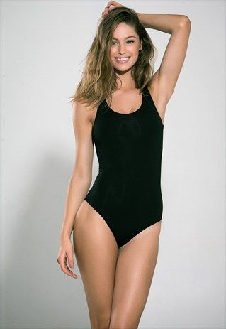 Swimsuit+Cleancut+by+Jenny+Skavlan+One-piece+Black