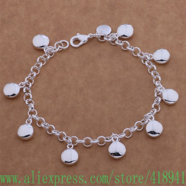 925 чистое серебро браслет, 925 чистое серебро ювелирные изделия / dzaamqha bacajrja AH077