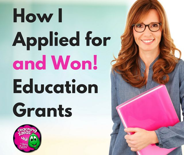 How to Write Successful Teacher Grant Applications - Read about five proven strategies used by a teacher winner of numerous grants at local, state, and national levels!
