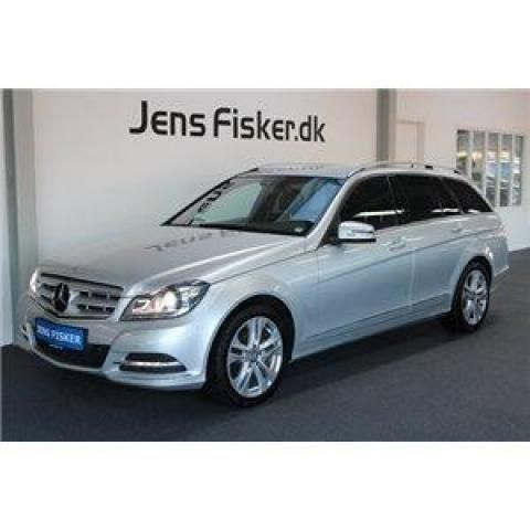 Mercedes C200 2,2 CDi Avantgarde st.car BE 2012 km