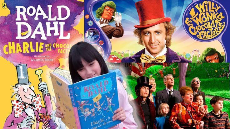 Diferencias entre Libro y Película. Charlie y la Fábrica de Chocolate