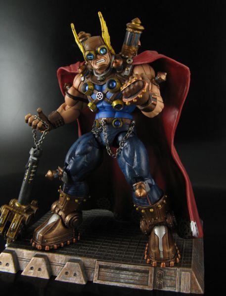 Steampunk Thor (Marvel Legends) Custom Action Figure ...