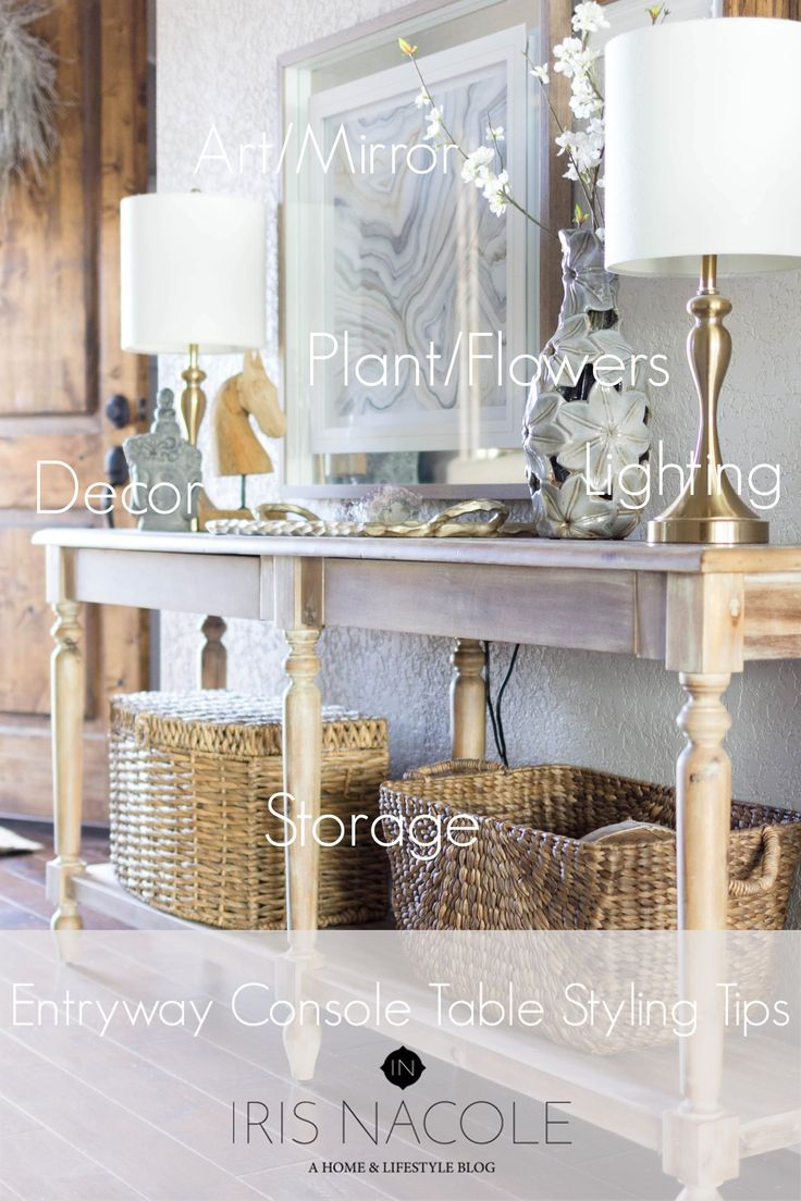 Best 25+ Console table styling ideas on Pinterest ...