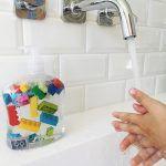 DIY: LEGO zeep - Zo wassen ze hun handen wél!