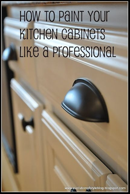 Paint your kitchen cabinets like a pro. Get inspired and create your own web room too! At mywebroom.com