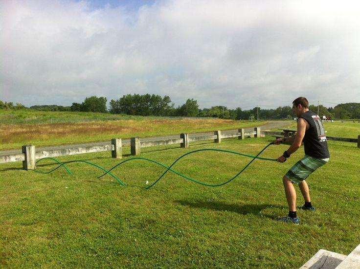 CraftyBridge: DIY Battle Rope - from a hose!