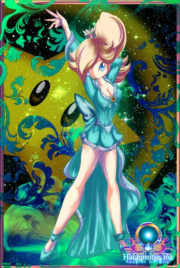 Princess Rosalina's magical girl attire. Dress was ...Interstella 5555 Stella Dress