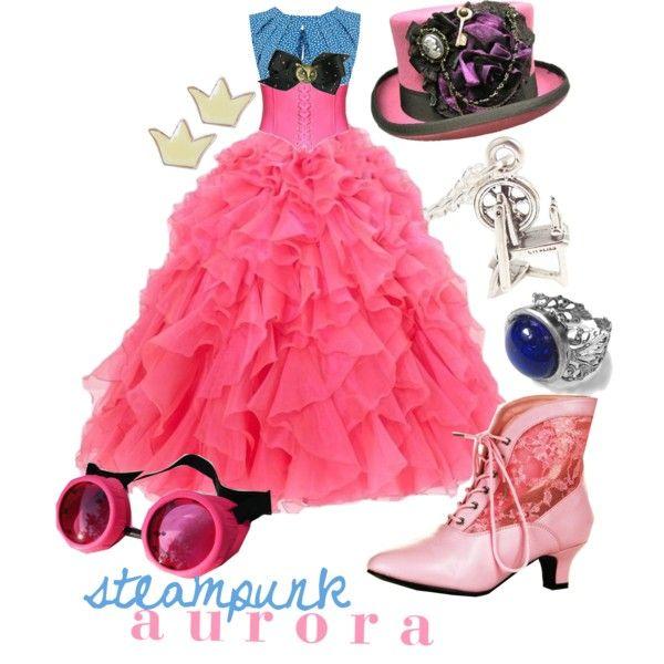 Steampunk Beauty by princesschandler on Polyvore
