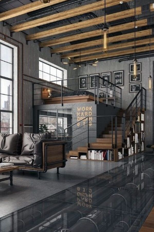 20 Industrial Home Decor Ideas Loft Inspiration Industrial Home Design Industrial Interior Design