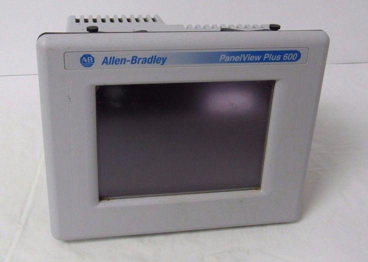 ALLEN BRADLEY PANELVIEW PLUS 600 2711P-T6C20A SER.D OPERATOR INTERFACE