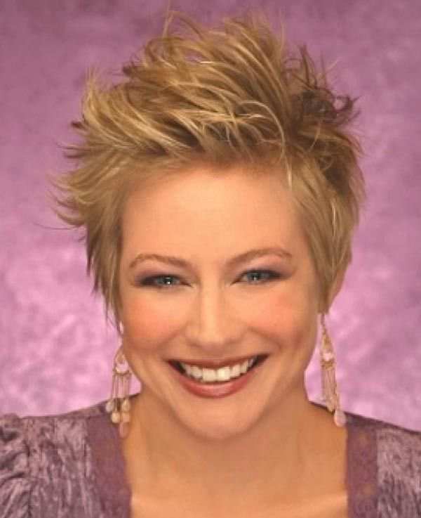 women s spiky hairstyles for thin hair Google Search