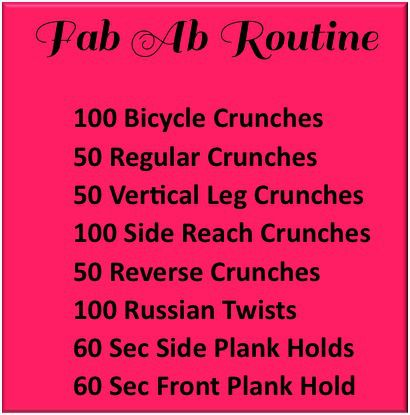 Morning Ab Workouts | Sweetly Balanced