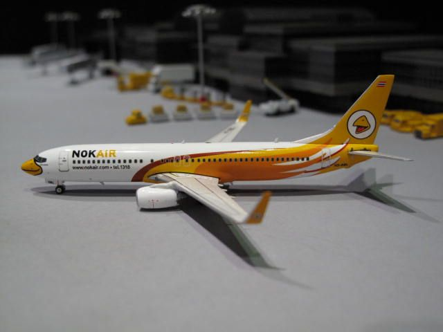 Nok Air. B-737-800 Orange Winglets. Phoenix Models