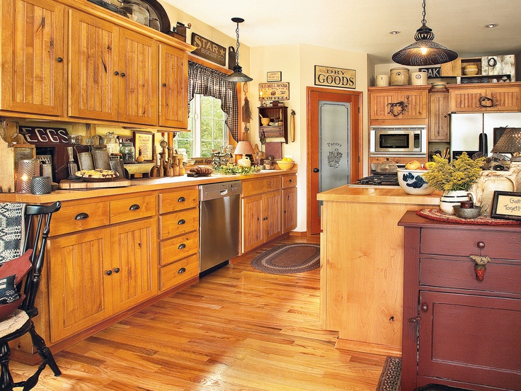 Country Kitchen Red Bud Il Part - 18: Cabin Kitchens