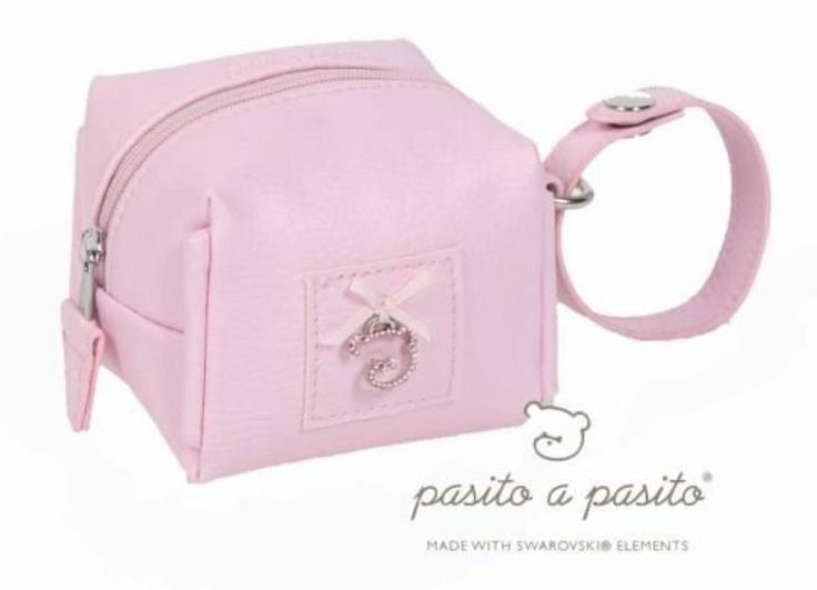 Pasito A Pasito Range Sucette Rose By Swarovski