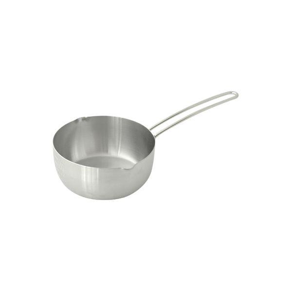 【栗原はるみ/キッチン用品】 IH対応ステンレス雪平鍋 16cm ツヤ消し仕上げ