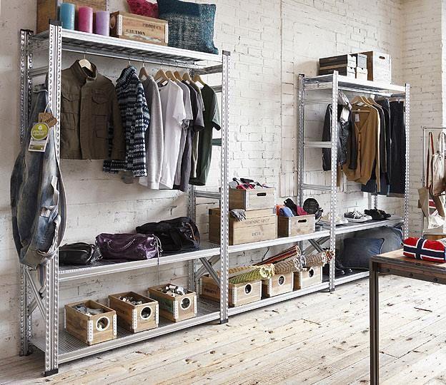 High quality shelves by Metalsistem - UGP  Fémpolc