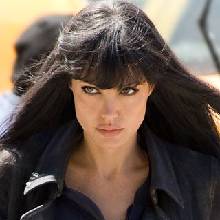 Can you guess what movie this still of Angelina Jolie is from??-------------------------   Salt!
